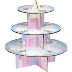 Premier Housewares - Soporte para Tarta (3 Pisos), diseño de Castillo de Hadas