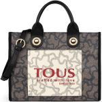 Tous - Bolso De Mano Amaya Kaos Icon En Negro Con Estampado De Logos