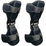 XIAOWANG Booster 2PCS Protector de la Rodilla, el Punto de Apoyo de la Rodilla, estabilizadores de la Rodilla para la Escalada Senderismo Reduce el Dolor protección piernas frías Old Tiefenpflege