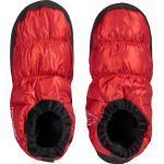 Zapatillas de casa rojas informales para mujer