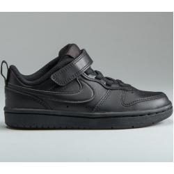 Sneakers negras para vuelta al cole Nike Court Borough Low para hombre