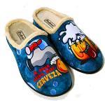 Zapatillas de casa multicolor para hombre
