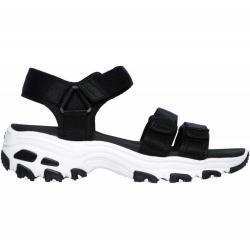 Zapatillas Casual_Mujer_SKECHERS D'lites - Fresh Catch - Tallas Calzado: 41, Color: Negro