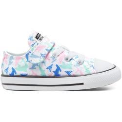 Zapatos verdes Converse Chuck Taylor infantiles
