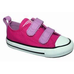 Zapatos morados Converse All Star Ox infantiles