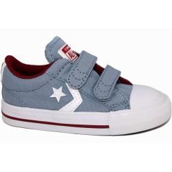 Zapatillas converse infant star player 2v ox azul