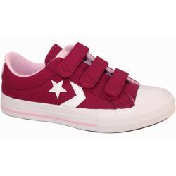 Zapatos rosas Converse Star Player infantiles