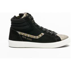 Calzado de calle negro Pepe Jeans con tachuelas para mujer