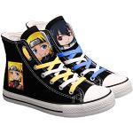 ZXJWZW Anime Naruto Cosplay Zapatos De Lona Estudiante Adolescentes Niño Niña Moda Calzado Deportivo